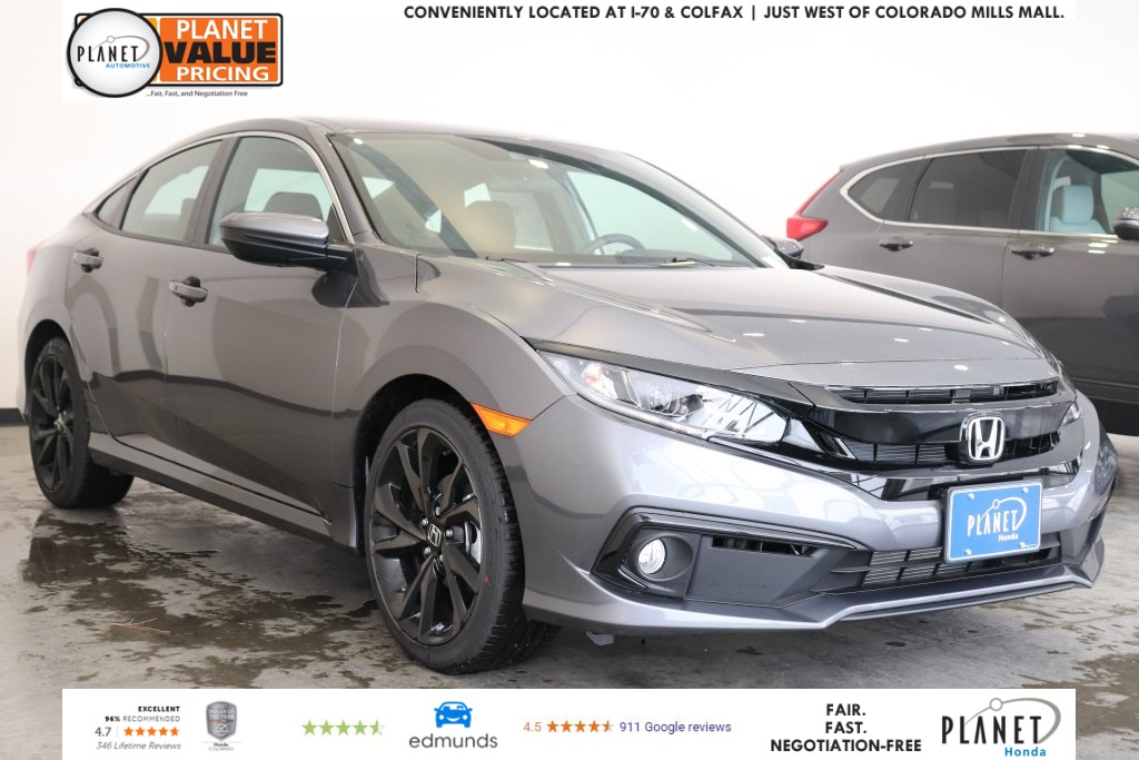 new 2019 honda civic sport 4d sedan in golden 292221 planet honda rh planethonda com