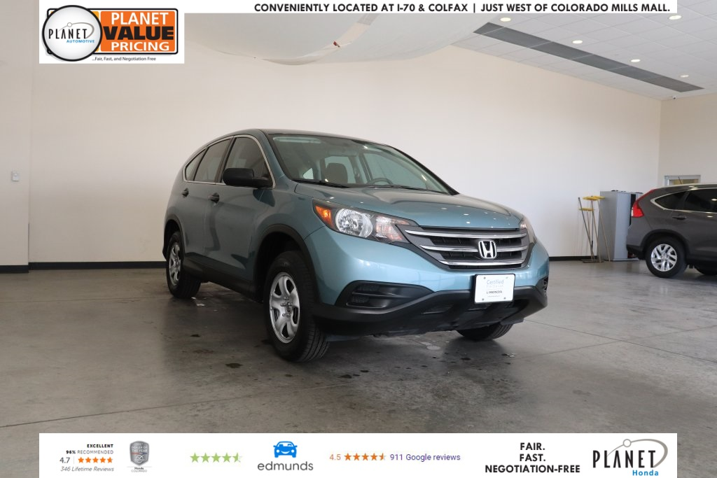 Certified Pre-Owned 2014 Honda CR-V LX