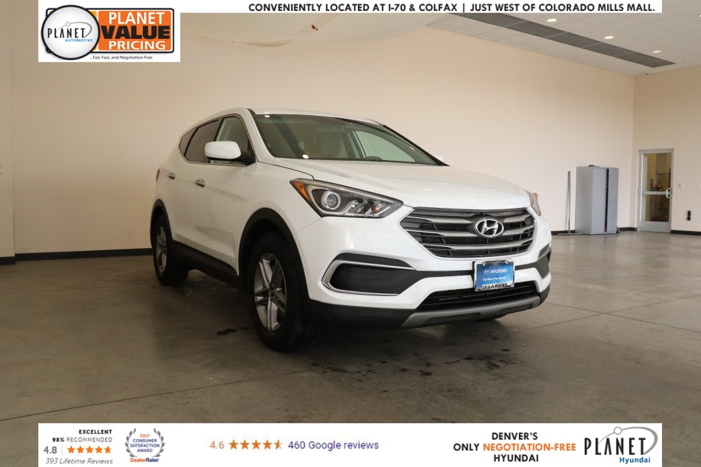 Certified Pre Owned 2018 Hyundai Santa Fe Sport 2 4 Base