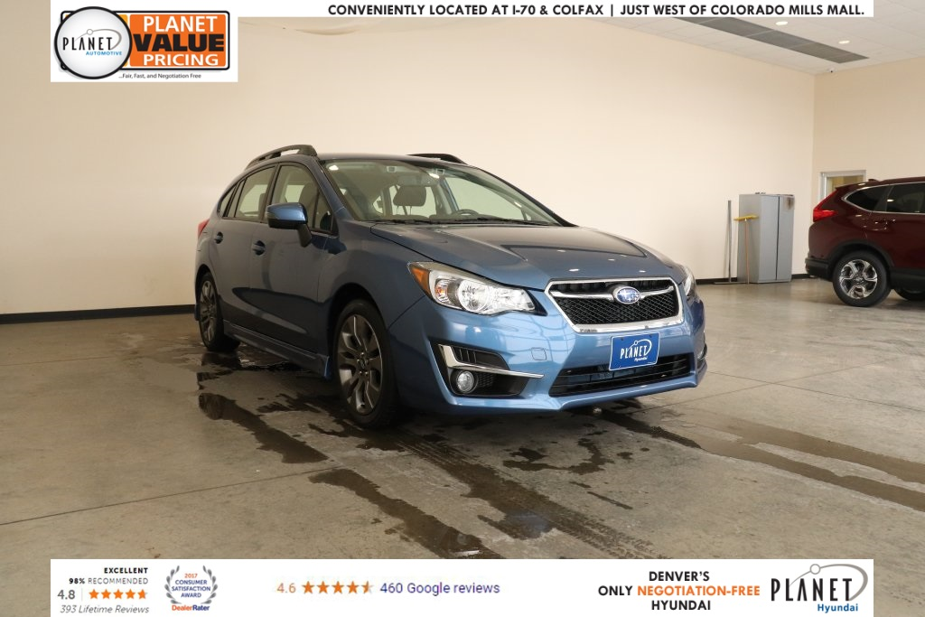 Pre Owned 2016 Subaru Impreza 2 0i Sport Limited