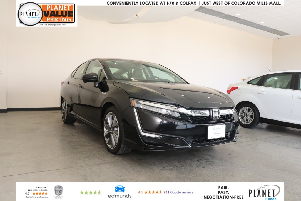 Certified Pre-Owned 2018 Honda Clarity Plug-In Hybrid Touring