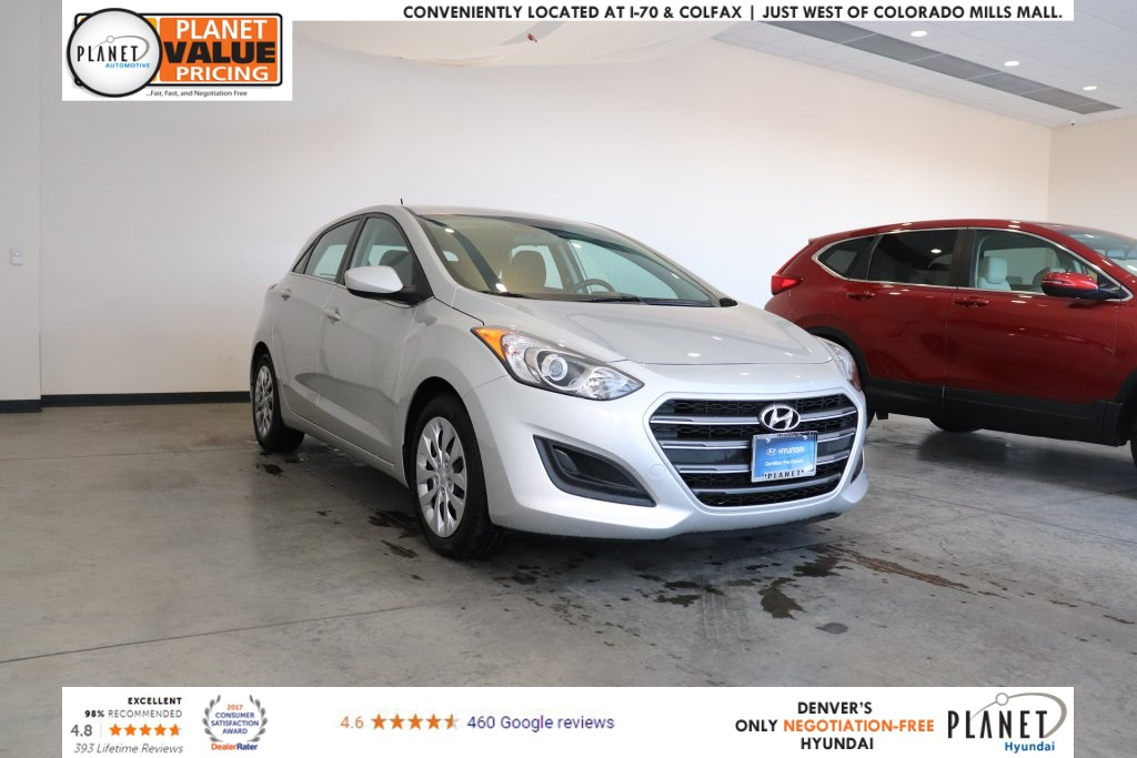 Certified Pre Owned 2017 Hyundai Elantra Gt Base