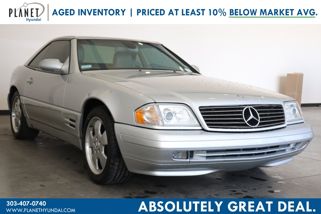Pre-Owned 2001 Mercedes-Benz SL-Class SL 500