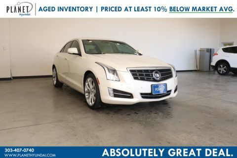 Pre-Owned 2013 Cadillac ATS 2.0L Turbo Performance