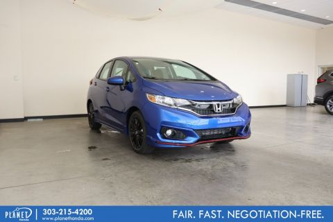 New 2020 Honda Fit Sport